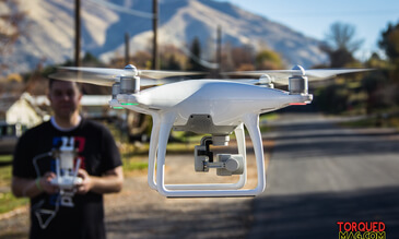 PRODUCT REVIEW: THE DJI PHANTOM 4 DRONE