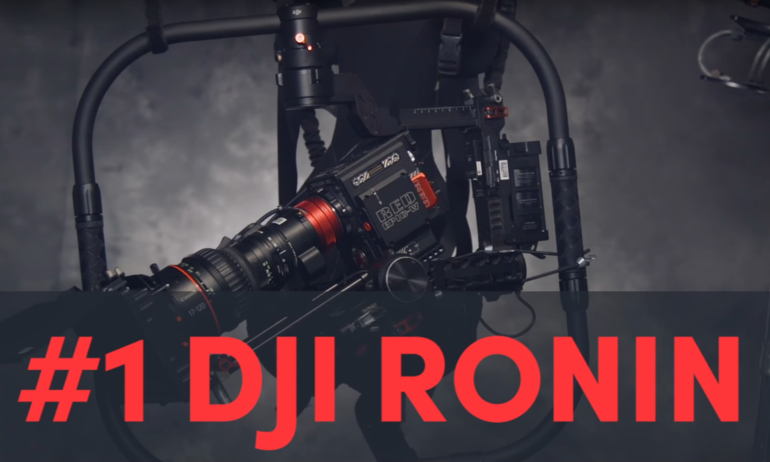 DJI Ronin Tops ShareGrid's List of Rental Gear 2016