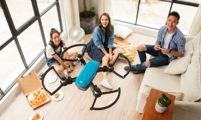 DJI Spark Camera Drone Becomes More Fun And Intelligent  With New Video And Photo Features