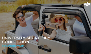 "DJI Launches ""Campus Stories"" Short Film Contest for Students in the U.S."