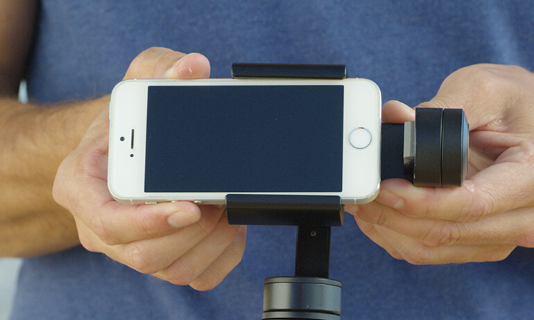 DJI Osmo Mobile Tutorial - Inserting Your Phone