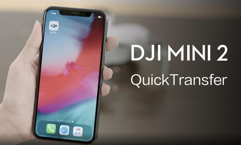 DJI Mini 2 | QuickTransfer