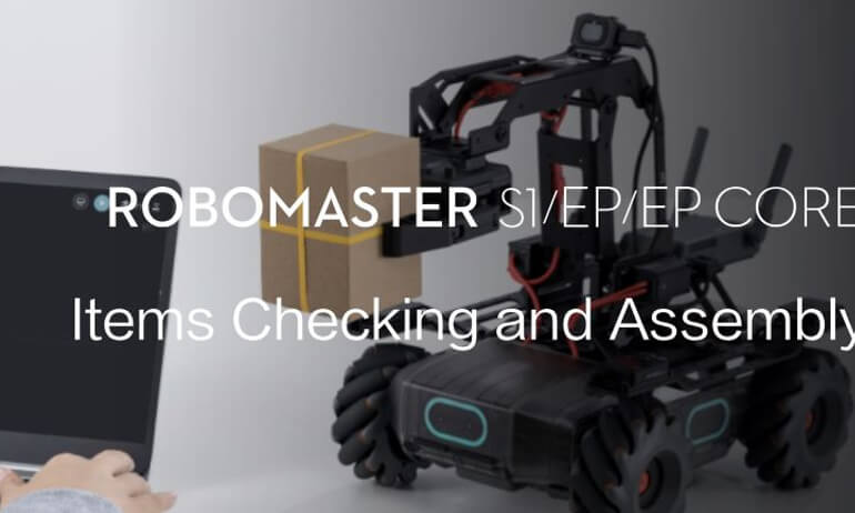 RoboMaster S1/EP/EP CORE  | Items Checking and Assembly