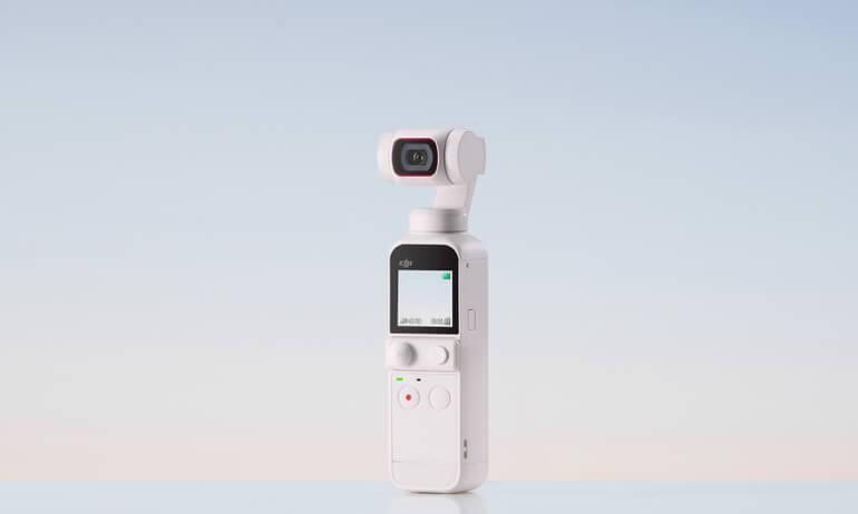 夏の冒険をVlogしよう DJI Pocket 2、新色「Sunset White (サンセット ホワイト)」登場!