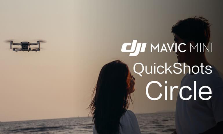 """Mavic Mini Tutorials - How To Perform A """"Circle"""" QuickShot"""