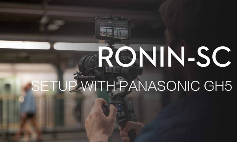 How to Set Up Ronin-SC for using with PANASONIC GH5 Camera