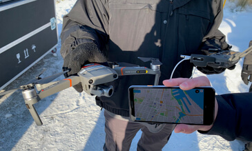 DJI Demonstrates Direct Drone-To-Phone Remote Identification