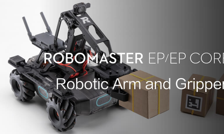 RoboMaster EP/EP CORE | How to Operate the Robotic Arm and Gripper
