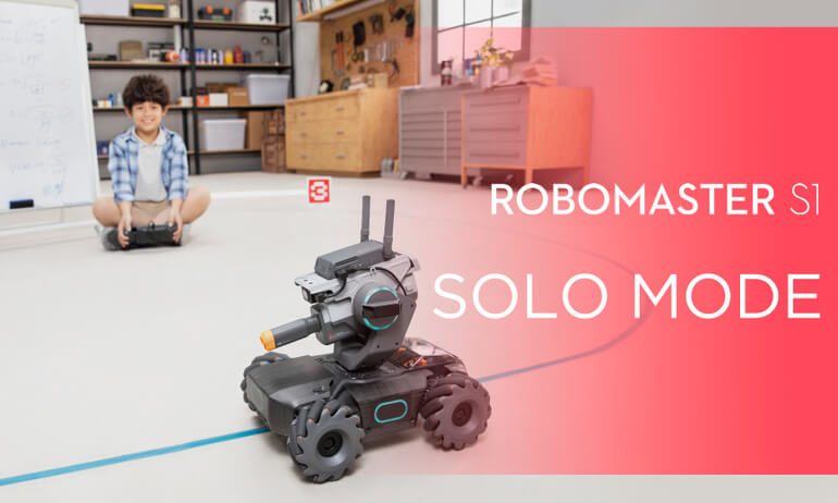 DJI - RoboMaster S1- How to Use Solo Mode