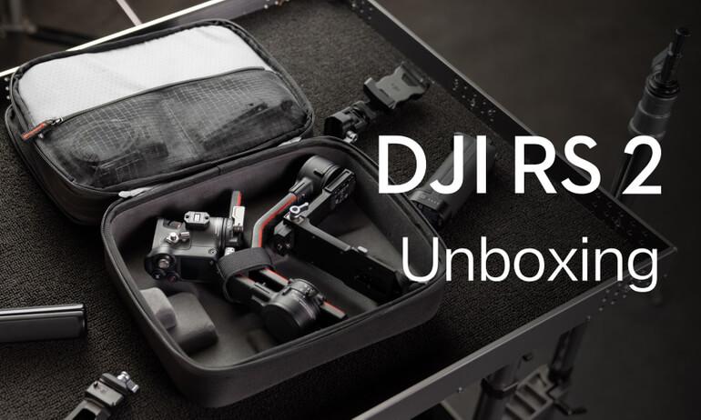 DJI RS 2 | Unboxing