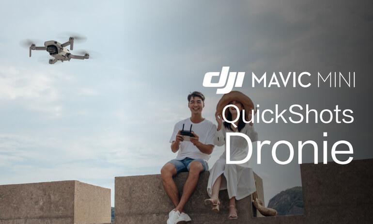 """Mavic Mini Tutorials - How To Perform A """"Dronie"""" QuickShot"""