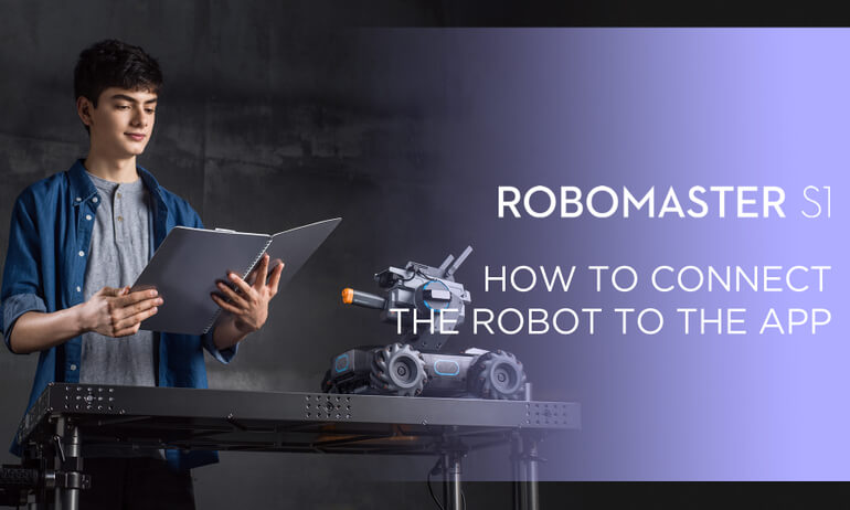 "<i class=""not-translate"" data-key=""DJI - RoboMaster S1- How to Connect the Robot to the App ""></i>"