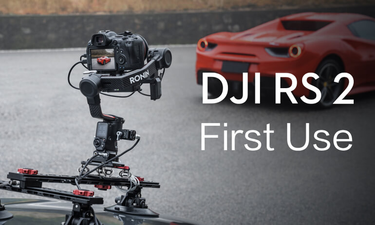DJI RS 2 | First Use