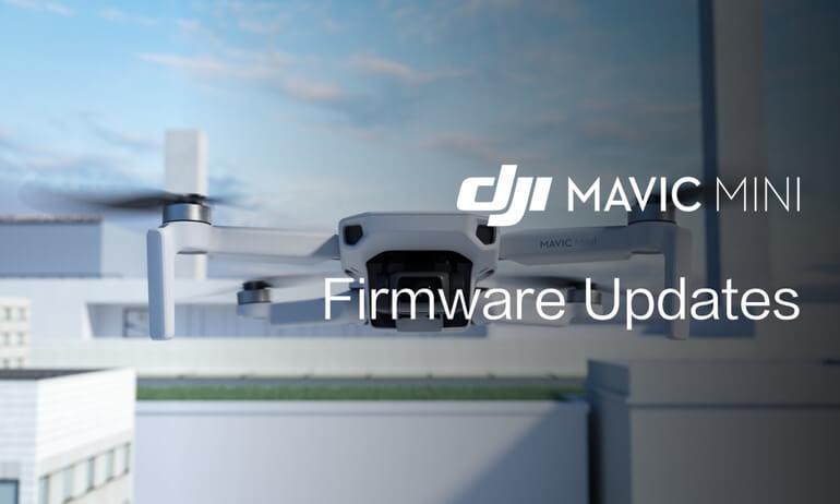 Mavic Mini Tutorials - Firmware Updates