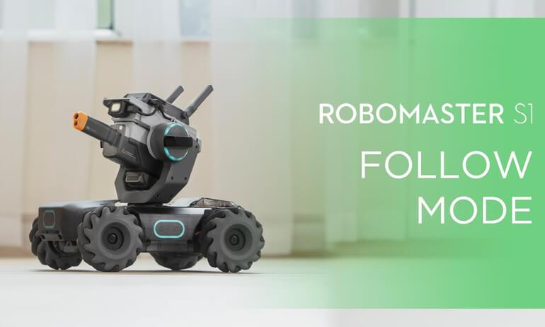 DJI - RoboMaster S1- How to Use Follow Mode on RoboMaster S1