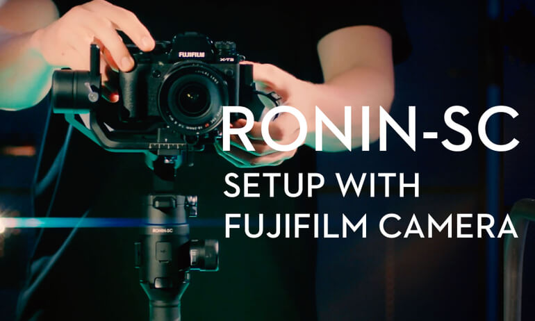 Setup with FUJIFILM Camera