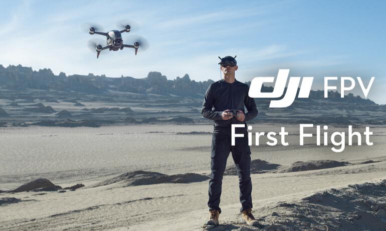 DJI FPV | First Flight