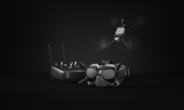 Take Drone Racing To The Next Level With The DJI Digital FPV Ecosystem, The First Low Latency HD Video Transmission Signal