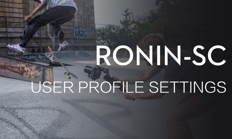 Ronin-SC | User Profile Settings Guide