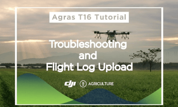 Troubleshooting and Flight Log Upload