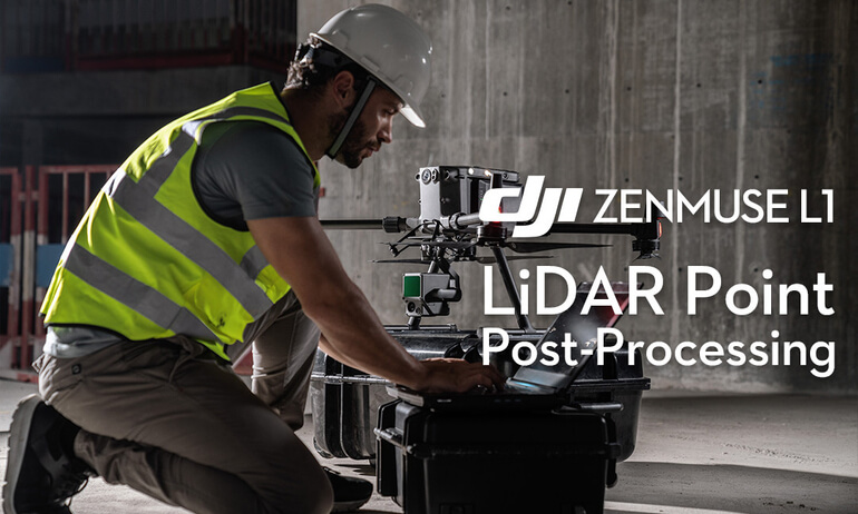 Zenmuse L1 | LiDAR Point Post-Processing