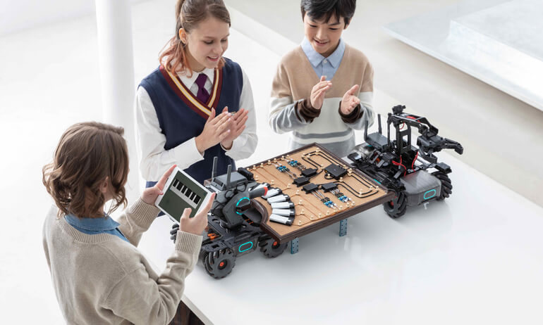 New RoboMaster EP Core Educational Robot System Sparks Inspiration In The Classroom