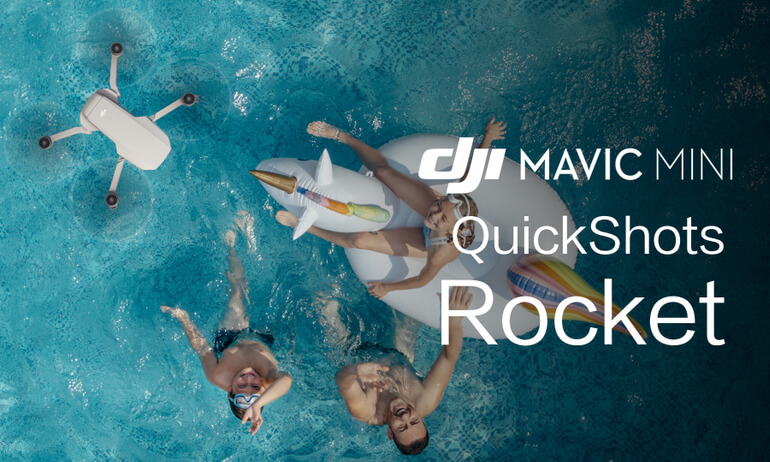 """Mavic Mini Tutorials - How To Perform A """"Rocket"""" QuickShot"""