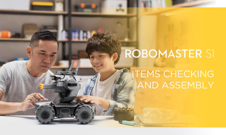 "<i class=""not-translate"" data-key=""DJI - RoboMaster S1- Items Checking and Assembly""></i>"