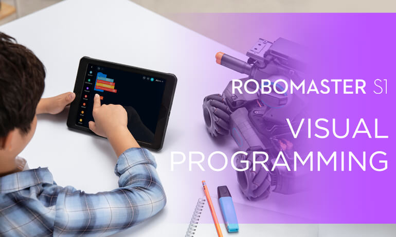 DJI - RoboMaster S1- How to Program with Scratch