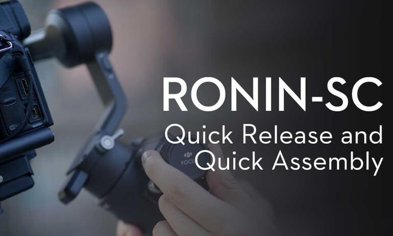 DJI - Ronin-SC - Quick assembly and setup
