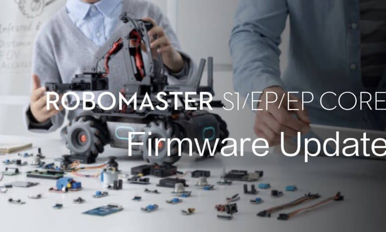 RoboMaster S1/EP/EP CORE | Firmware Update