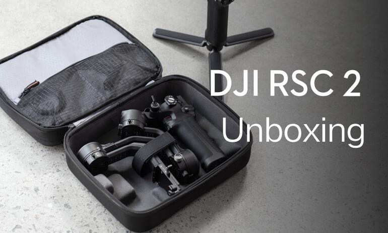 DJI RSC 2 | Unboxing