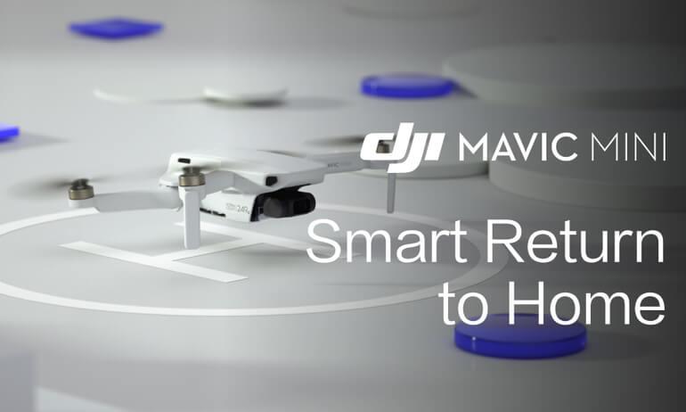 Mavic Mini | How To Use The Smart Return To Home Feature