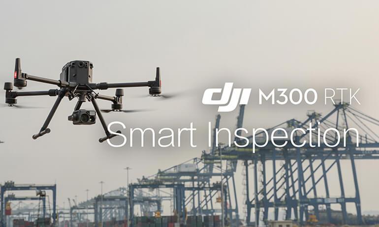 DJI- M300 RTK - M300 RTK | Smart Inspection