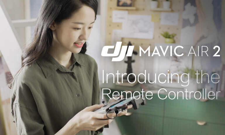 Mavic Air 2 | Introducing the Remote Controller