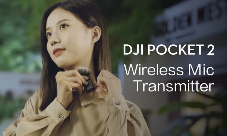 DJI Pocket 2 | Wireless Microphone Transmitter