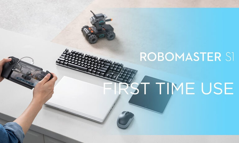DJI - RoboMaster S1 - First Time Use