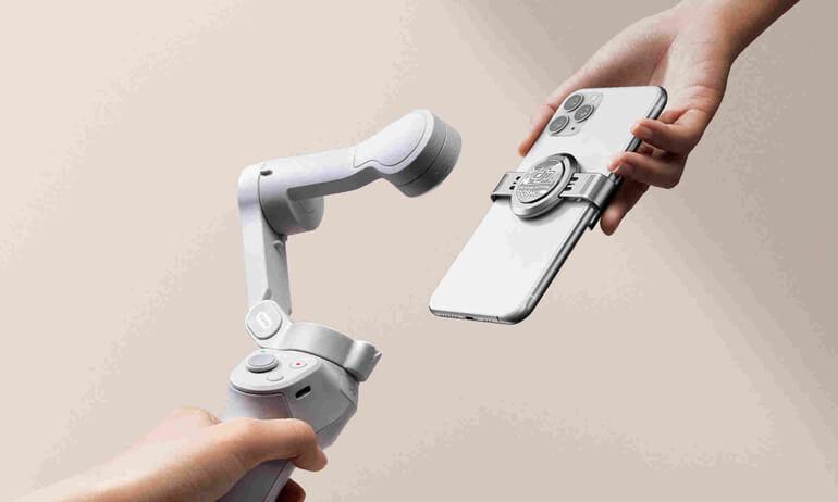 磁吸拍出吸引力  DJI OM 4 手機雲台正式發佈