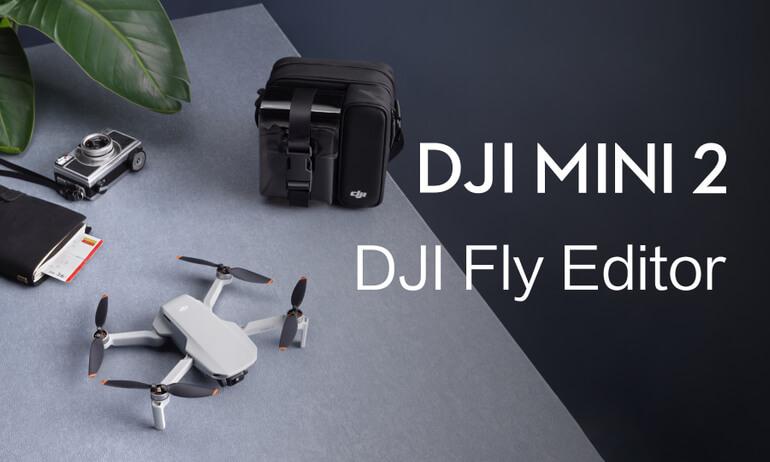 DJI Mini 2 | DJI FLY Editor