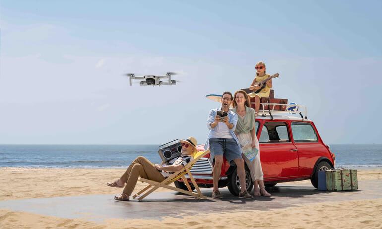 DJI 發佈航拍小飛機 DJI Mini 2,革新「249 克」航拍體驗