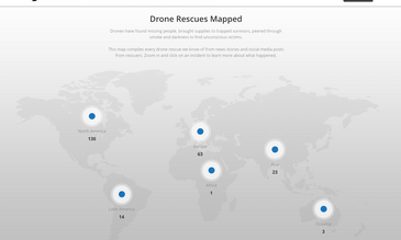 New DJI Drone Rescue Map Tracks Drone-Assisted Rescues Worldwide
