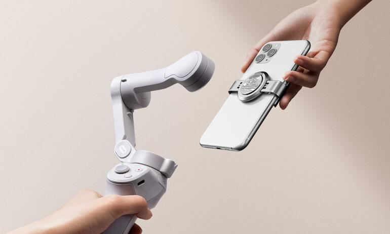 磁吸拍出吸引力 大疆手机云台 DJI OM 4 正式发布