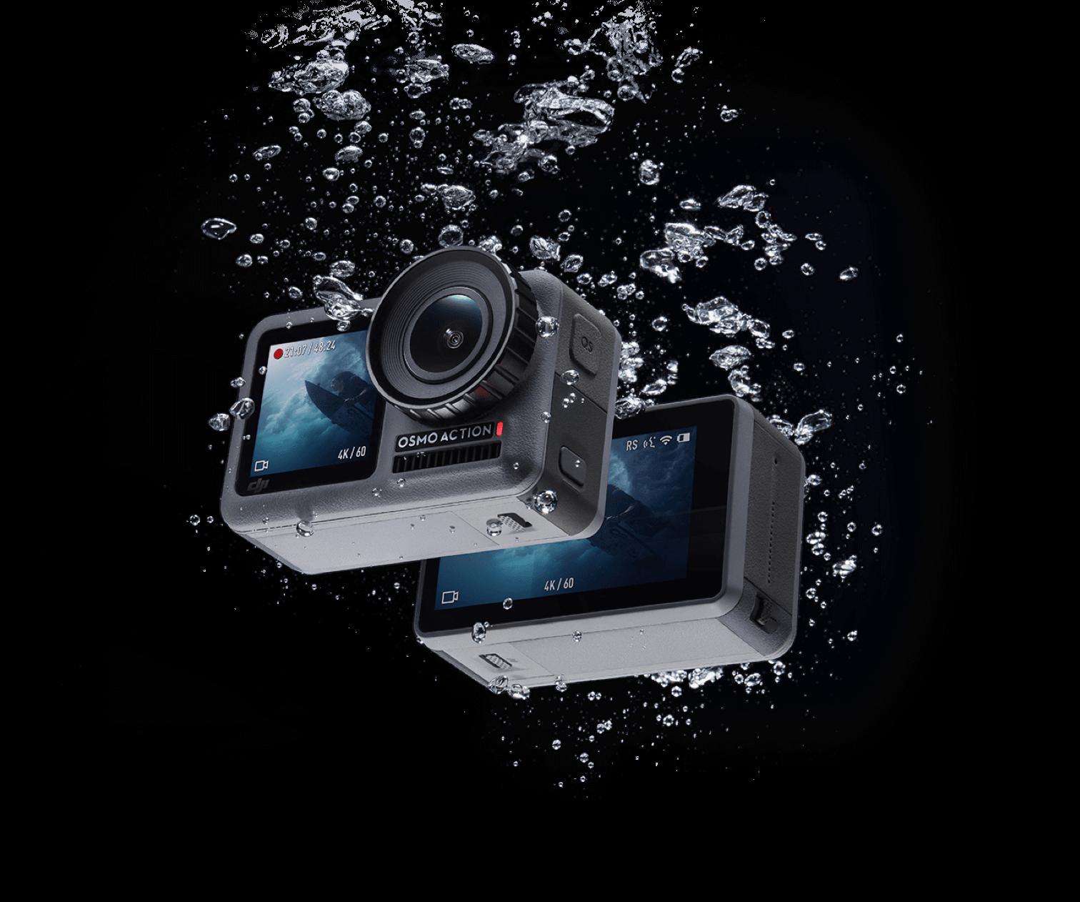 DJI OSMO Action 运动相机以独特前置彩屏瞄准vloger市场,支援裸机11米防水 16