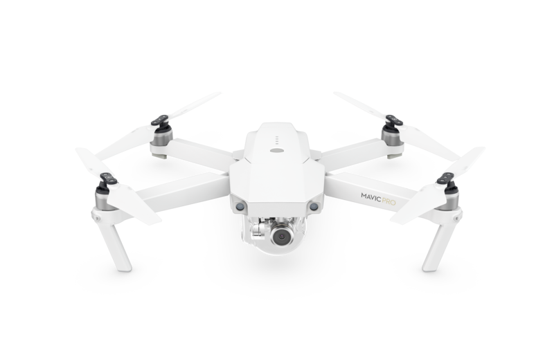 The Portable Powerful And Easy To Use Mavic Pro That Features DJIs Most Innovative Flight Technology Now Comes In A White Sleek Version