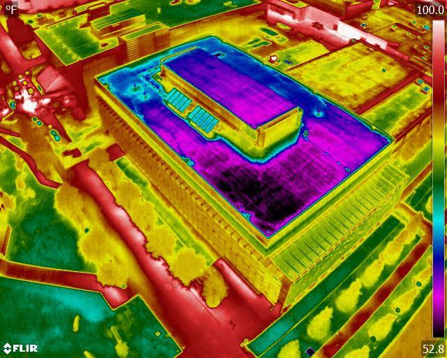 Thermal inspection visualization