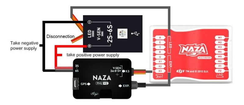 [WLLP_2054]   Naza-M V2 With More Features And Function Extension | Naza Mv2 Wiring Diagram |  | DJI