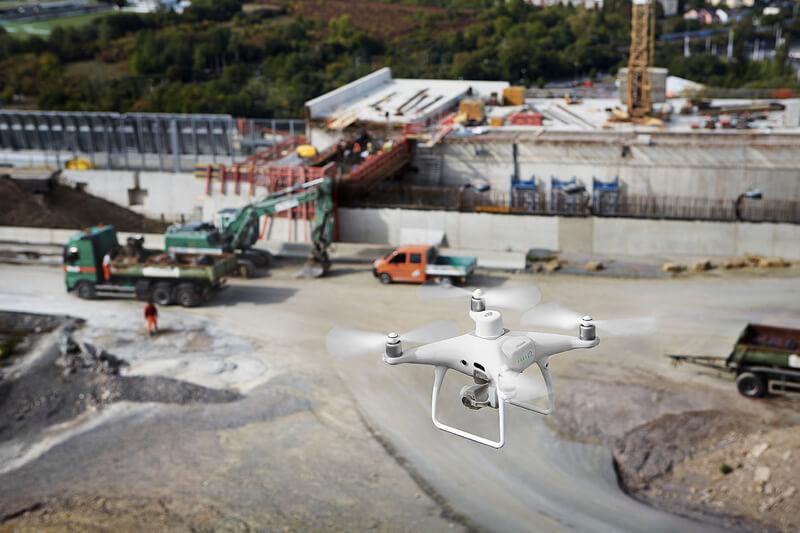 STRABAG Deploys the Phantom 4 RTK for Construction Surveying to