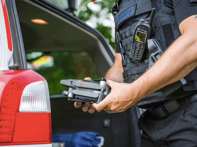 Ease of deployment is crucial for the police