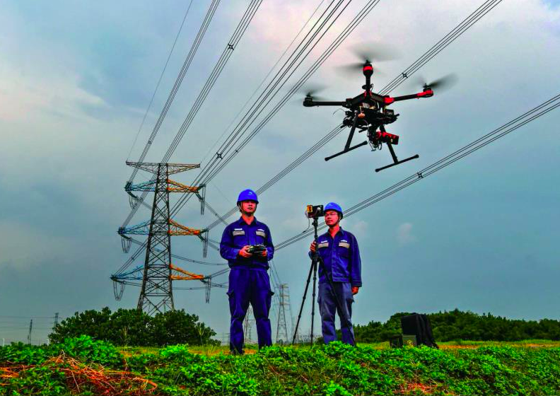 Scaling out Powerline Inspection with Drone Technology