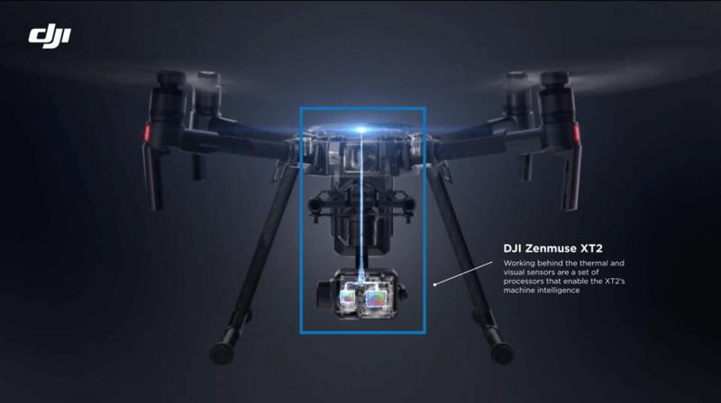 DJI Zenmuse XT2 sensor